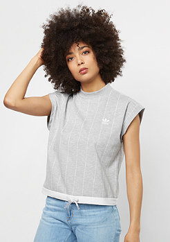 T-Shirt Hi Neckt medium grey heather