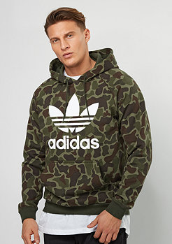 Hooded-Sweatshirt Camo multicolor
