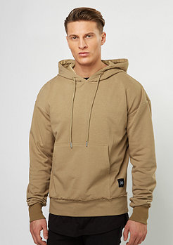 Hooded-Sweatshirt Drop Shoulder sand