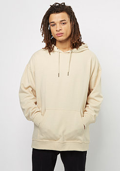 Hooded-Sweatshirt Oversized sand