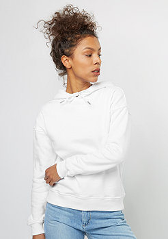 Hooded-Sweatshirt Ladies white