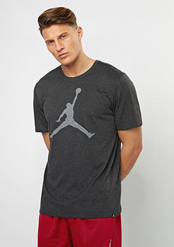 T-Shirt The Iconic Jumpman black heather/white