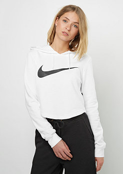 W NSW Hoody CROP SWSH white/white/black