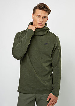 Hooded-Sweatshirt Tech Fleece PO legion green/htr/black/black