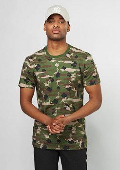 T-Shirt NY Camo rifle green