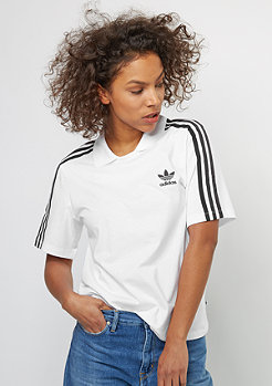 adidas T-Shirt Polo Tee white