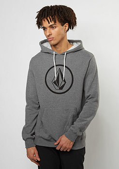 Hooded-Sweatshirt Stone dark grey