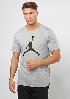 T-Shirt The Iconic Jumpman dark grey heather/sequoia