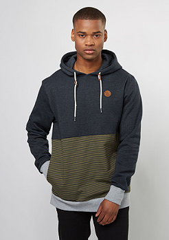Hooded-Sweatshirt Threezy mud