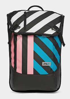Stripeoff blue/pink/black