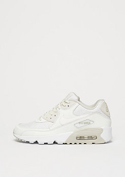 NIKE Schuh Air Max 90 SE Mesh (GS) summit white/summit white/light bone