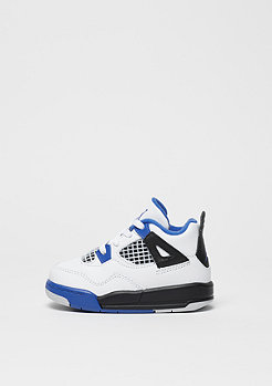 Basketballschuh Jordan 4 Retro TD Motorsport white/game royal/black