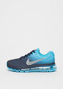 Schuh Air Max 2017 (GS) binary blue/white/chlorine blue