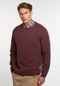 Strickpullover Anglistic chianti heather