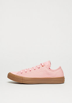 Converse Schuh Chuck Taylor All Star Ox vapor pink/honey gum/honey gum