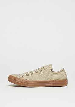 Converse Schuh Chuck Taylor All Star Ox vintage khaki/honey gum/honey gum