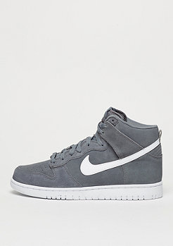 NIKE Basketballschuh Dunk Hi cool grey/white