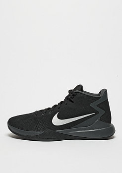 Basketballschuh Zoom Evidence black/metallic silver/white