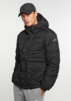 Winterjacke 550 Down black/anthracite/warm grey