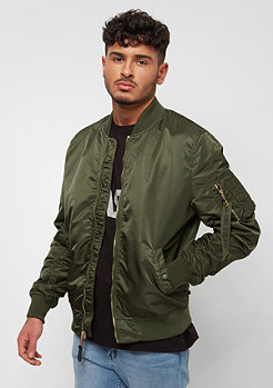 Alpha Industries Übergangsjacke MA-1 VFLW dark green