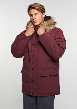 Winterjacke Anchorage Parka chianti/black