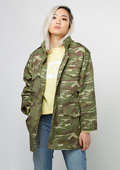 Übergangsjacke Army Parka camo