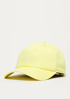 Baseball-Cap BL What You Heard Curved yellow