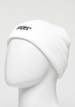 SNIPES Beanie Small Logo white/black