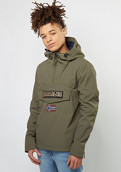 Übergangsjacke Rainforest M Sum grey olive