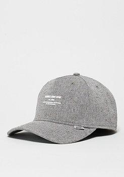Baseball-Cap Spotted Linen light grey