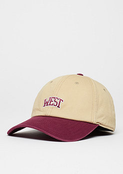 Baseball-Cap WL West University Curved sand