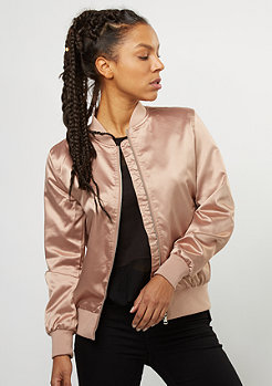 Übergangsjacke Inside Out Creppe Satin rose