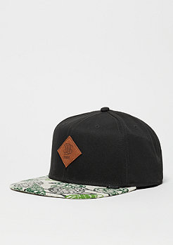 Strapback-Cap Birds black