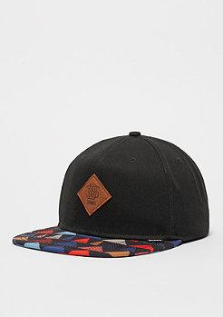 Snapback-Cap TriCord black