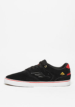 Skateschuh The Reynolds Low Vulc black/white/red