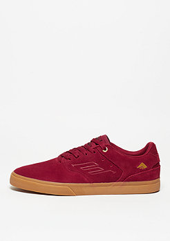 Skateschuh The Reynolds Low Vulc burgundy/gum