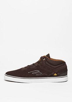 Skateschuh Westgate Mid Vulc dark brown