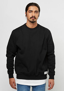 Sweatshirt Basic Crew 08 black