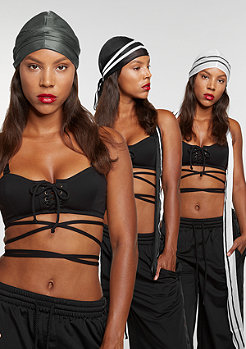 Fenty by Rihanna Durag 3 Pack black/white/dark grey