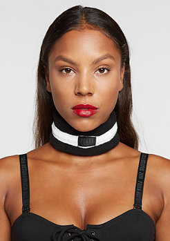 Fenty by Rihanna Terry Cotton Choker black/white