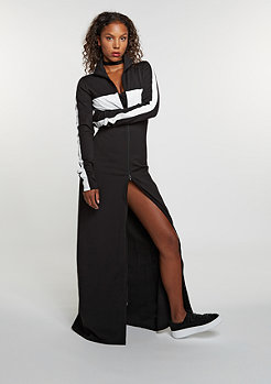 Fenty by Rihanna Mock Neck Maxi Dress black
