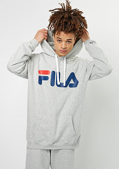Fila Hooded-Sweatshirt Urban Line Basic Classic Logo Kangaroo light grey