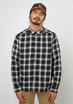 Langarm-Hemd Woven Shirt black/white