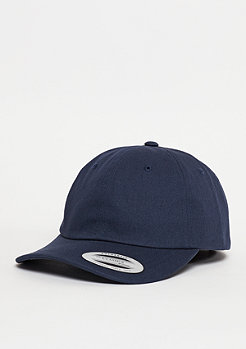 Strapback-Cap Low Profile Cotton Twill navy