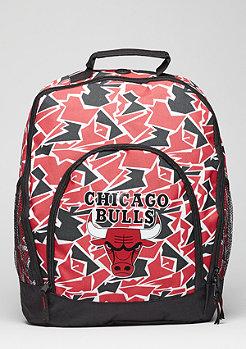 Rucksack Camouflage NBA Chicago Bulls red