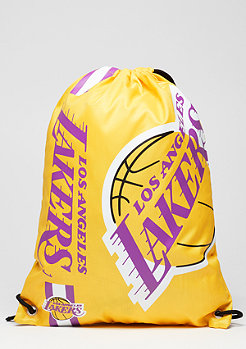 Forever Collectibles Turnbeutel Cropped Logo NBA Los Angeles Lakers yellow