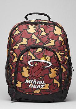 Rucksack Camouflage NBA Miami Heat burgundy