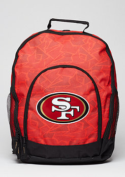 Forever Collectibles Rucksack Camouflage NFL San Fransisco 49ers red