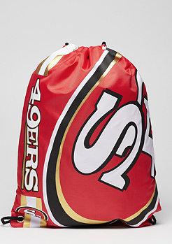 Turnbeutel Cropped Logo NFL San Fransisco 49ers red