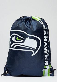 Turnbeutel Cropped Logo NFL Seattle Seahawks navy